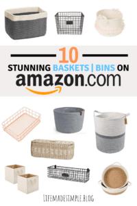 Amazon baskets