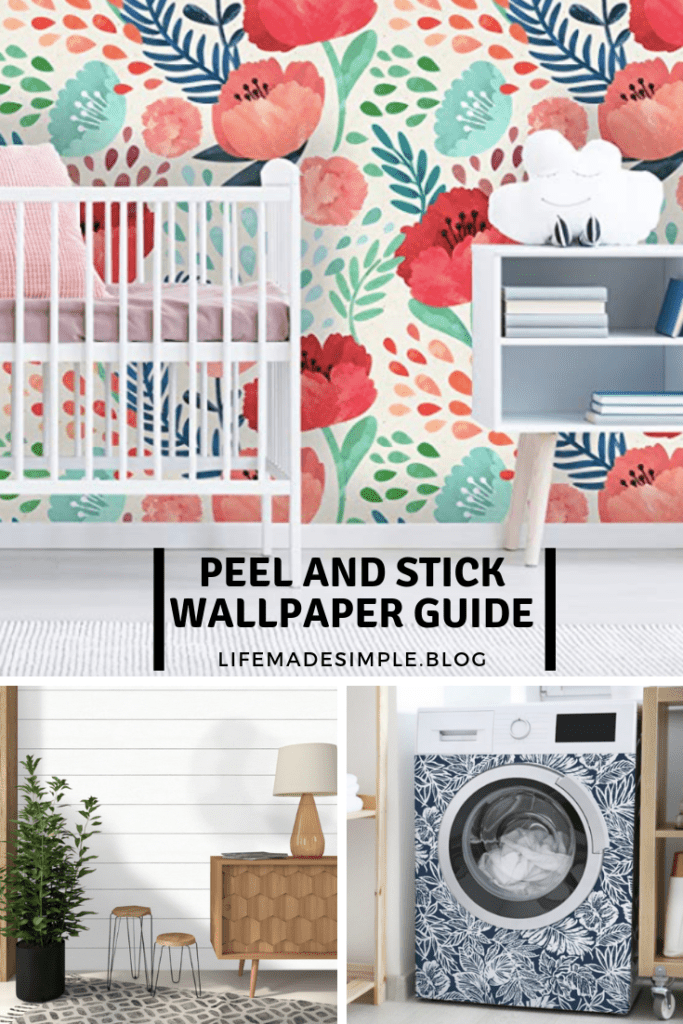 Peel and stick wallpaper guide