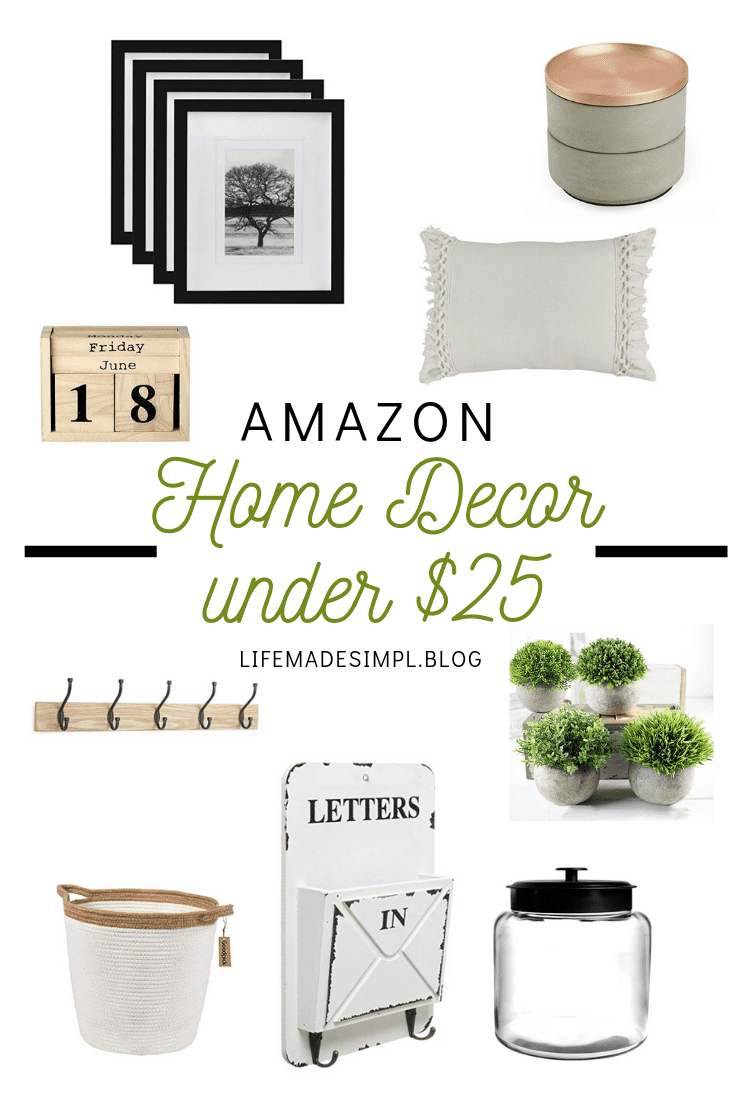 Home Decor Gift Guide $25 and Under