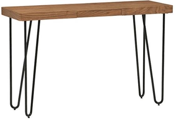 Hairpin entryway table