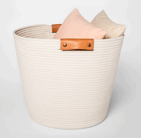 Budget friendly basket for entryway