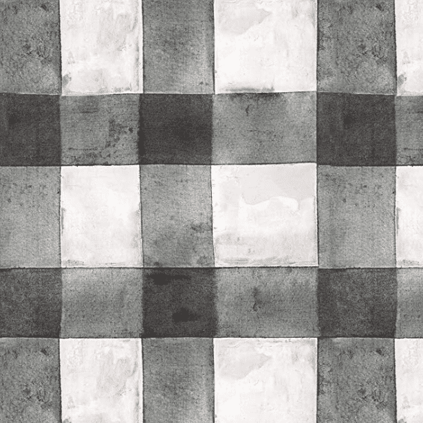 black plaid peel and stick wallpaper
