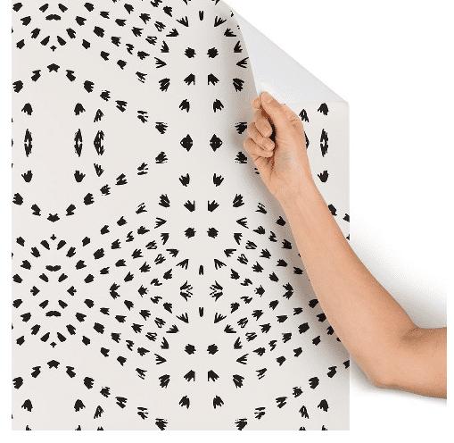 boho peel and stick wallpaper
