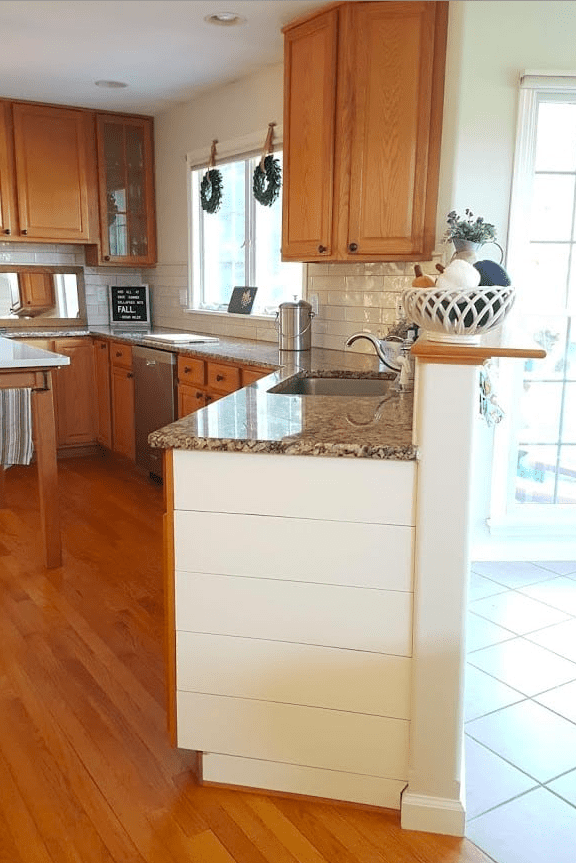 How To Update Wood Cabinets No Painting
