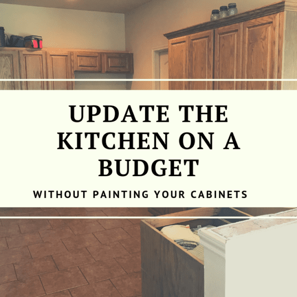 How to update wood cabinets