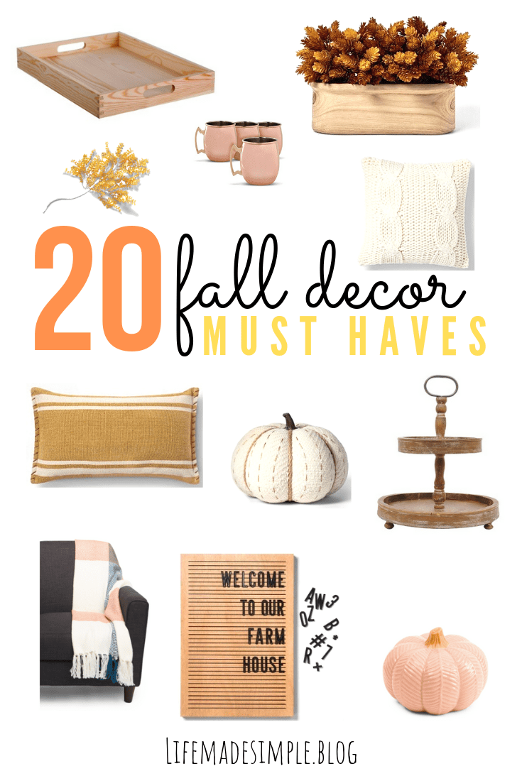 BEST FALL DECOR FOR EVERY STYLE