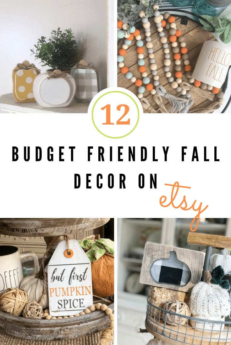budget friendly fall decor on etsy