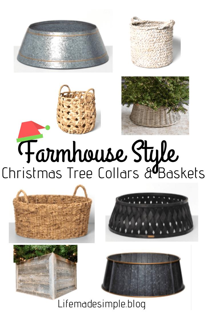 Christmas Tree Collars & Baskets