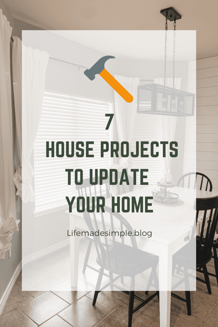 2020 House Projects List!