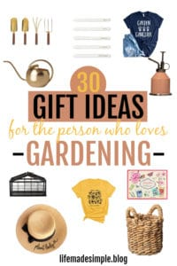 Gift ideas gardening